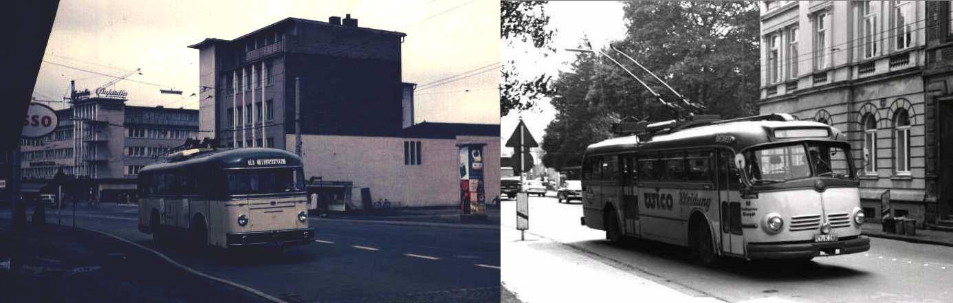Der obusbetrieb in rheydt 1952 1973 for Depot offenbach