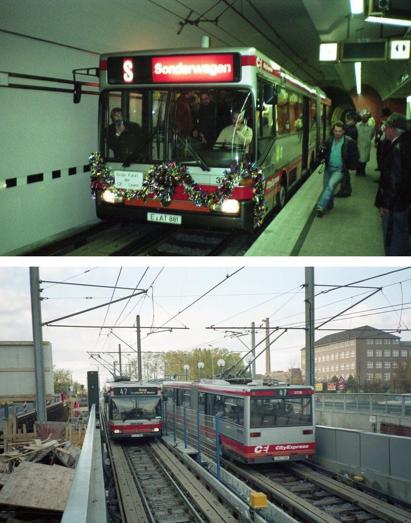 Linie CE47 an der Krupp HV